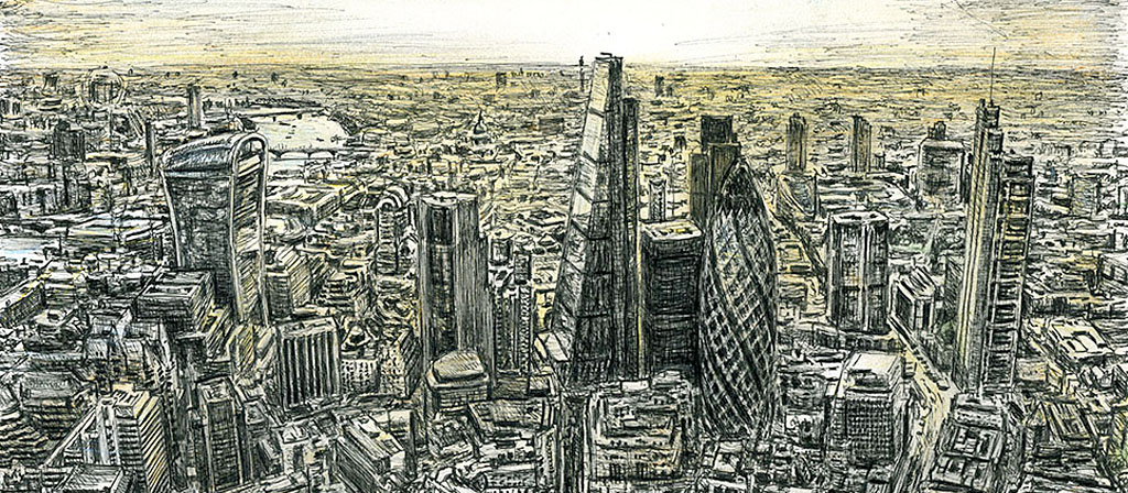 Stephen Wiltshire Gallery Of Original Drawings Prints