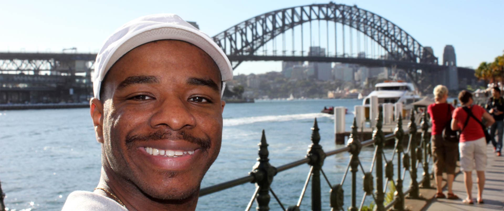 Stephen Wiltshire draws Sydney
