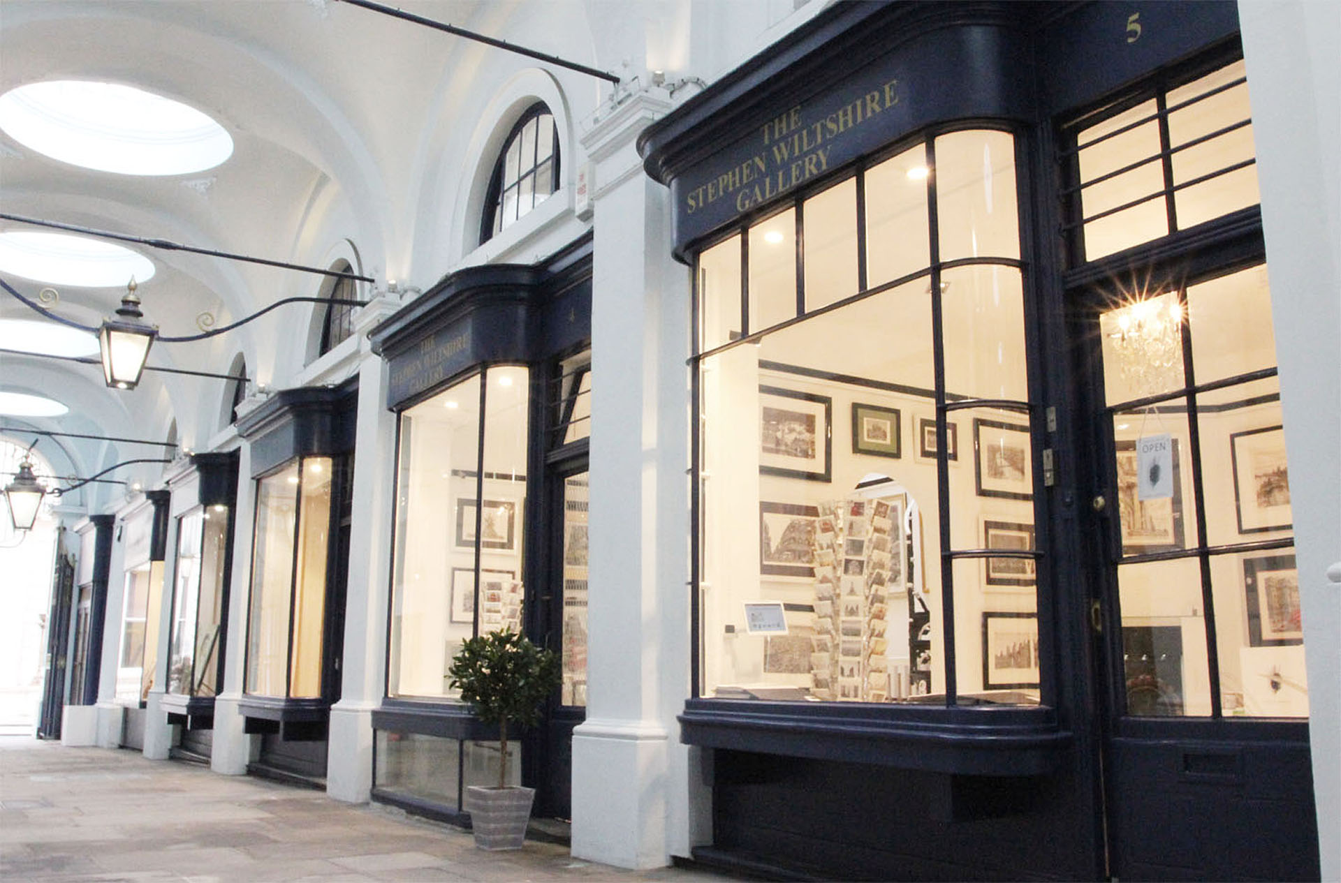 The Stephen Wiltshire Gallery in London
