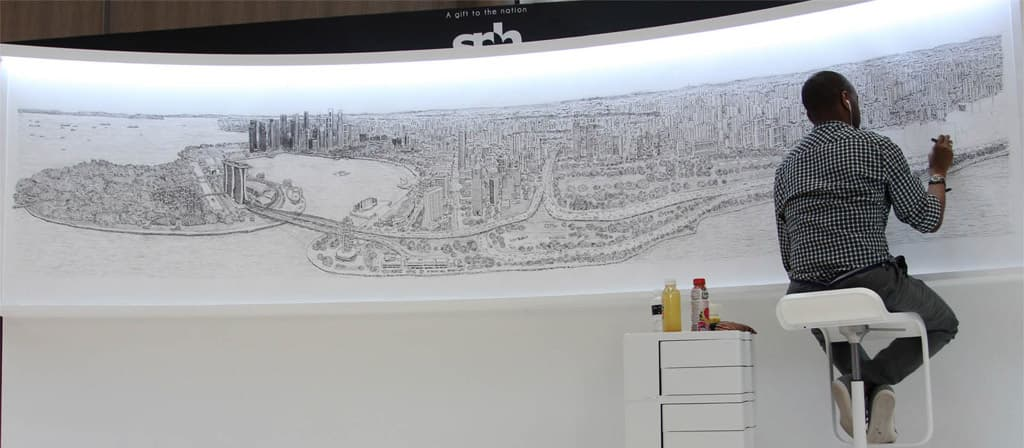 Stephen Wiltshire City Panoramas
