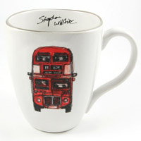 Stephen Wiltshire Ceramic Mug - Routemaster Bus - Gifts & Merchandise for sale