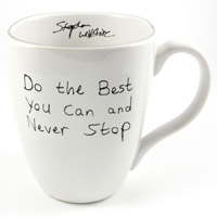 Stephen Wiltshire Ceramic Mug - Do the best you can - Gifts & Merchandise for sale