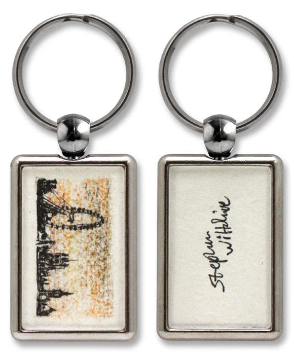 Keyring with a miniature original - London Eye - gifts and merchandise by Stephen Wiltshire MBE