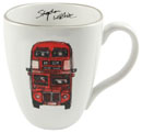 Stephen Wiltshire Ceramic Mug - Routemaster Bus - gifts and merchandise by Stephen Wiltshire MBE