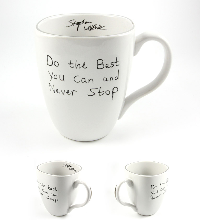 Stephen Wiltshire Ceramic Mug - Do the best you can - gifts and merchandise by Stephen Wiltshire MBE