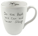 Stephen Wiltshire Ceramic Mug - Do the best you can - Gifts for sale