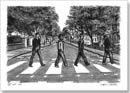 Z for Zebra crossing at Abbey Road