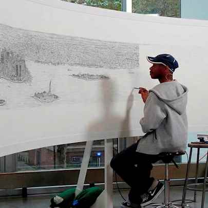 New York Panorama print - Stephen Wiltshire drawings, originals, prints and limited editions - Prints for sale