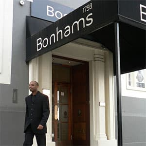 Bonhams Auction in Knightsbridge