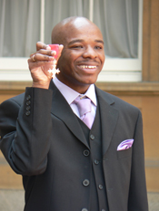 Stephen receives MBE