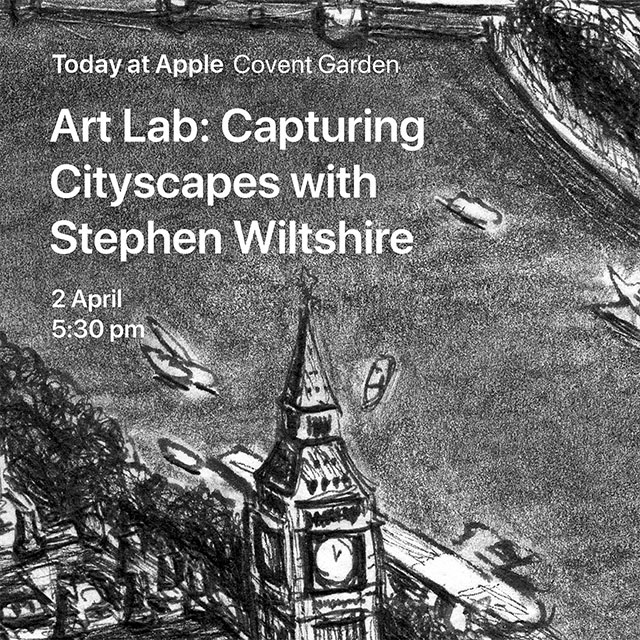 Join Stephen at the Apple Store