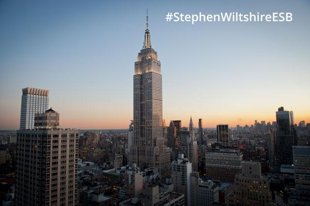 #StephenWiltshireESB
