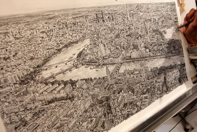 Stephen Wiltshire commissions