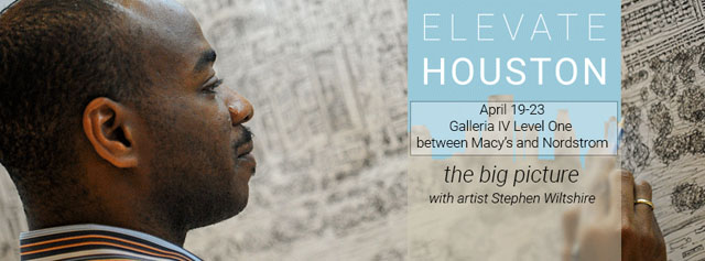 Elevate Houston : the big picture with artist Stephen Wiltshire