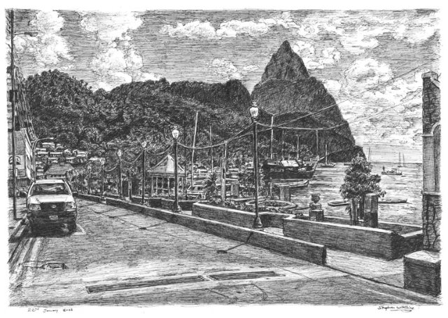 Soufriere in St Lucia