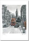 Whitehall in summer (Limited Edition of 75) - Prints for sale