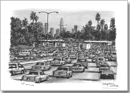 Los Angeles traffic on a freeway - Originals for sale