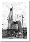 Construction of Shard of Glass (London) - Originals for sale