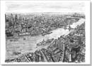 The View from the Shard - Drawings - Prints for sale