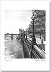 View of Westminster Bridge in summer - Originals for sale