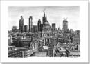 St Pauls Cathedral and the City of London skyline - Originals for sale
