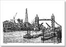 View of the Shard and Tower Bridge - Originals for sale