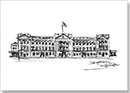 Buckingham Palace sketch - Originals for sale