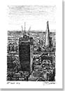 Walkie Talkie under construction - Originals for sale