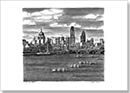 St Pauls Cathedral and London skyline with River Thames - Originals for sale