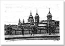 View of St Pauls Cathedral from London Bridge - Originals for sale