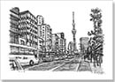 Tokyo ItteQ - Drawings - Originals for sale