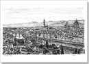 City of Florence - Drawings - Originals for sale