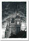 Big Ben at night - Drawings - Gallery