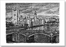 Houses of Parliament 2015 - Drawings - Originals for sale