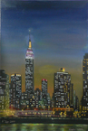 Empire State Building at night - Originals for sale