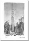 Freedom Tower - Originals for sale