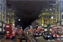 Oxford Circus at night - Originals for sale
