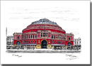 Royal Albert Hall in colour - Originals for sale