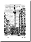 Monument in the City of London - Originals for sale