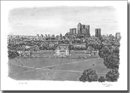 View of Canary Wharf and Docklands from Greenwich - Originals for sale