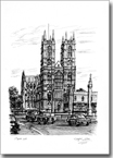 Westminster Abbey London - Originals for sale