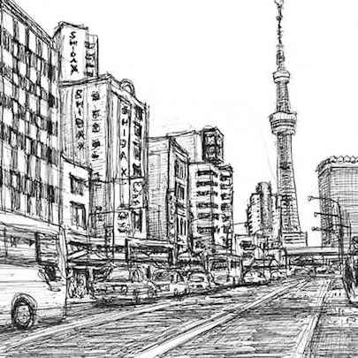 Tokyo ItteQ - Drawings - Originals, prints and limited editions
