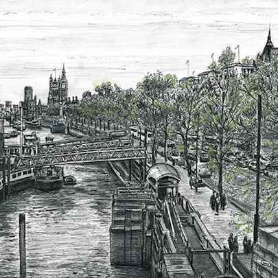 Embankment - Original drawings