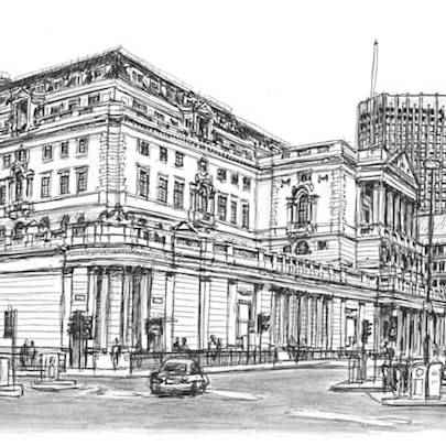 Bank of England - Original drawings