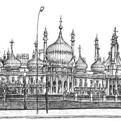 Brighton Pavilion - Original drawings