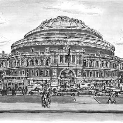 Drawing of Royal Albert Hall 2006