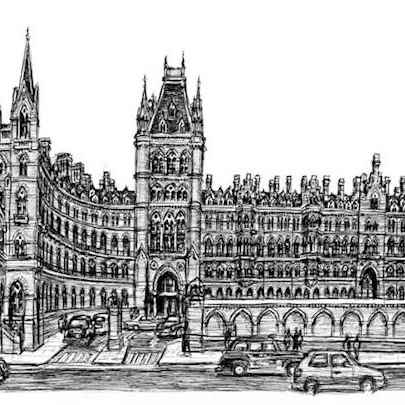 St Pancras Station 2006 - Drawings - Gallery