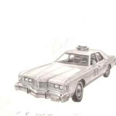 Taxi - Original drawings and Architectural Art