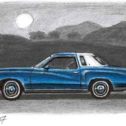 1977 Chevrolet Monte Carlo - Original Drawings