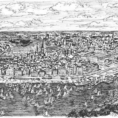 Stockholm - Original Drawings